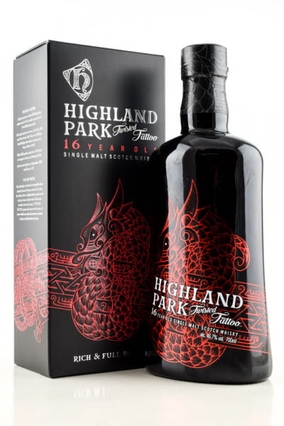 Highland Park 16 Jahre Twisted Tattoo 46,7%vol. 0,7l