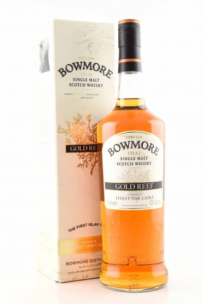 Bowmore Gold Reef 43%vol. 1,0l