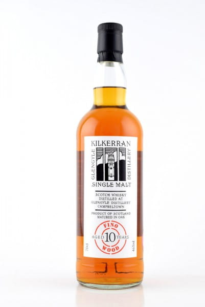 Kilkerran 10 Jahre Fresh Fino Wood 46%vol. 0,7l