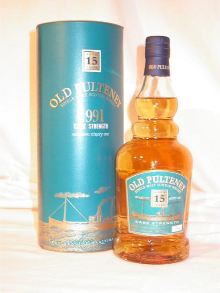 Old Pulteney 15 Jahre 1991 Cask strength 54,9%vol. 0,7l