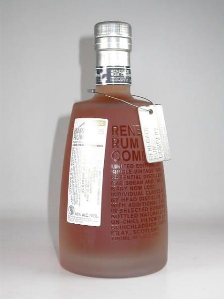 Barbados Rum Black Rock 2000/2009 Renegade Rum Co. 46%vol. 0,7l