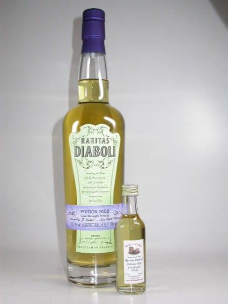 Raritas Diaboli Edition 2008 (Slyrs) 55,7%vol. Sample 0,05l