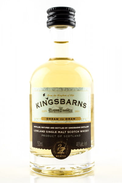 Kingsbarns Dream to Dram 46%vol. 0,05l