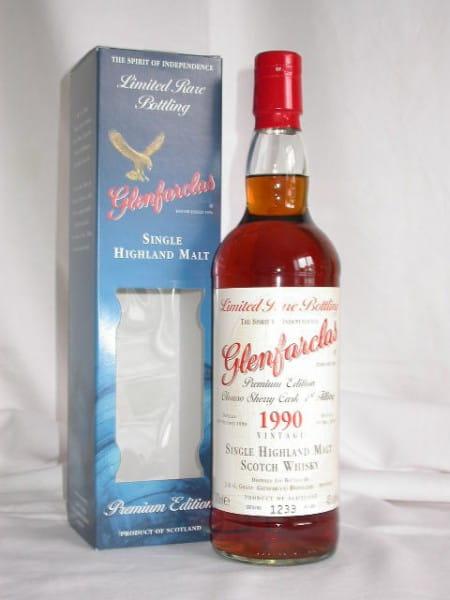 Glenfarclas 1990/2005 Oloroso Sherry Cask 1st fill 43%vol. 0,7l