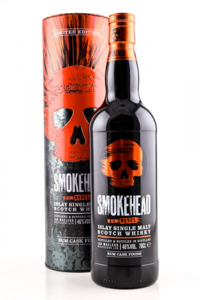 Smokehead Rum Rebel 46%vol. 0,7l