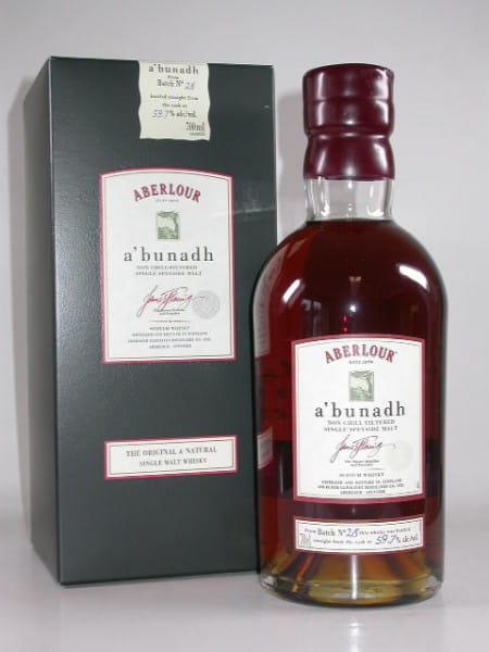 Aberlour a'bunadh Batch No. 26 60,6%vol. 0,7l