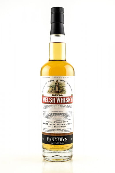Penderyn Royal Welsh Whisky - Icons of Wales No. 6 43%vol. 0,7l