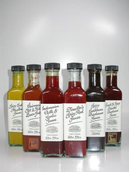 BBQ-Saucen - Das volle Dutzend! - 12 Saucen Ihrer Wahl 12x 220ml