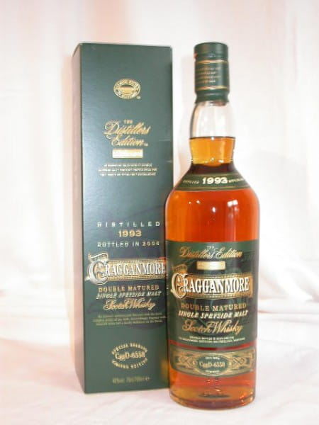 Cragganmore 1993/2006 Distillers Edition 40%vol. 0,7l