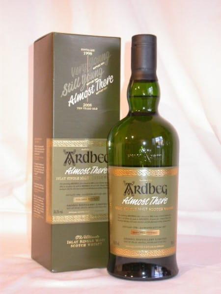 Ardbeg Almost There 1998/2007 54,1%vol. 0,7l