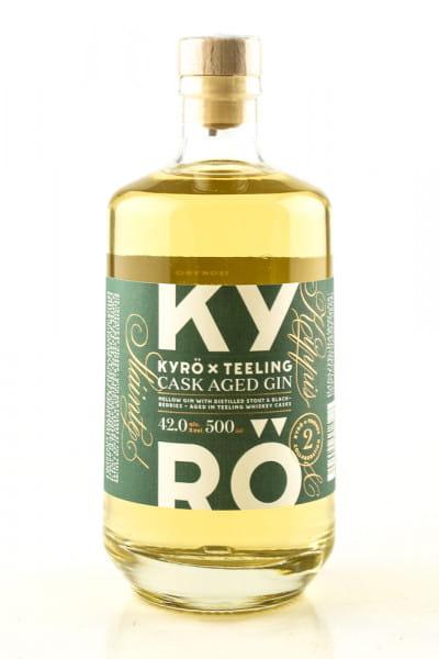 Kyrö X Teeling Cask Aged Gin 42%vol. 0,5l