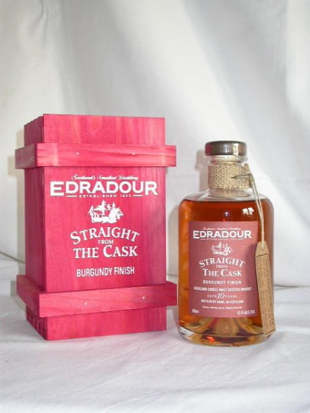 Edradour 1993/2004 Burgundy Finish 57,4%vol. 0,5l