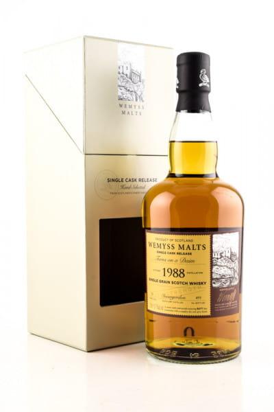 """Turns on a Daim"" 31 Jahre 1988 Single Sherry Butt Invergordon Wemyss Malts 53,7%vol. 0,7l"