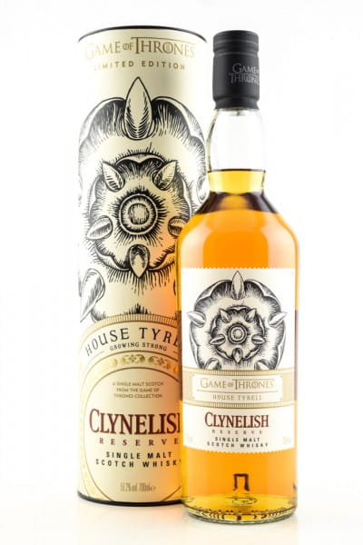 Game of Thrones House Tyrell & Clynelish Reserve 51,2%vol. 0,7l