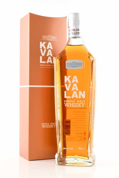 Kavalan Single Malt Whisky 40%vol. 0,7l