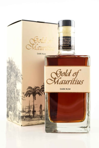 Gold of Mauritius Dark Rum 40%vol. 0,7l