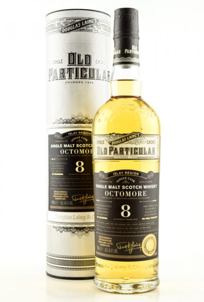 "Octomore 8 Jahre Refill Barrel 2011/2019 Douglas Laing ""Old Particular"" 48,4%vol. 0,7l"