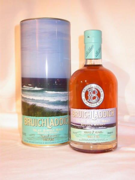 Bruichladdich WAVES 7 Jahre 46%vol. 0,7l (altes Design)