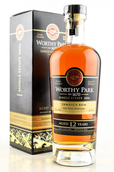 Worthy Park 12 Jahre Single Estate 2006 56%vol. 0,7l