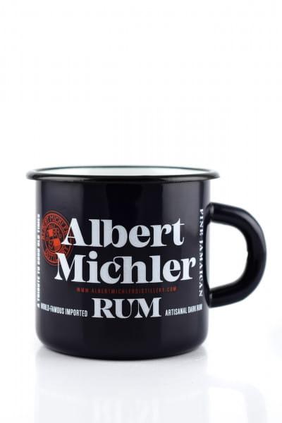 A. Michler Artisanal Dark Rum - Becher, blau