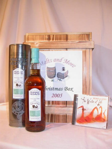 "Christmas Box Malts and More Highland Park + ""Water of Life"""