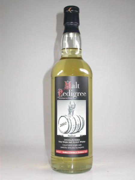 Peatbull 2002 - Malt Pedigree 46%vol. 0,7l