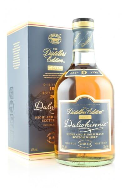 Dalwhinnie 1998/2015 Distillers Edition 43%vol. 0,7l