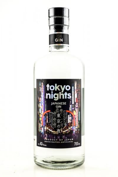 Tokyo Nights Japanese Gin 43%vol. 0,7l