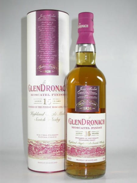 Glendronach 15 Jahre Moscatel Finish 46%vol. 0,7l