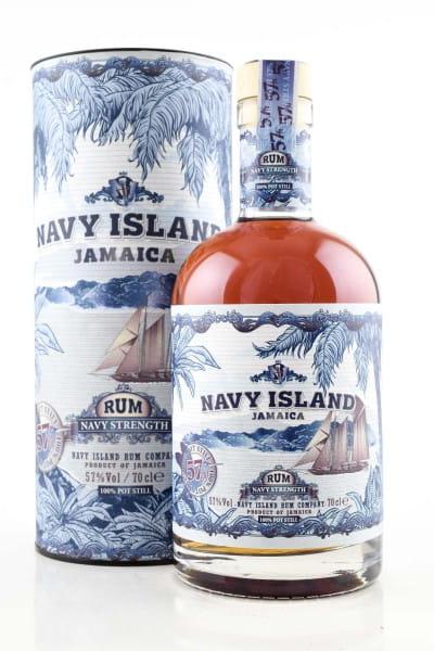 Navy Island Navy Strength 57%vol. 0,7l
