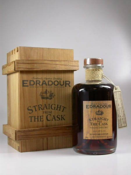 """Edradour 11 Jahre 91/03 """"Straight from the Cask"""" 59,3%vol. 0,5l"""