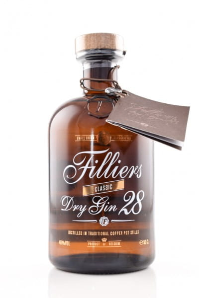 Filliers Dry Gin 28 46%vol. 0,5l