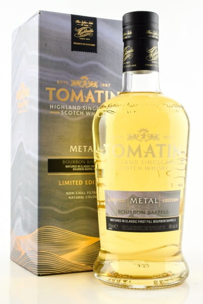Tomatin Five Virtues Metal 46%vol. 0,7l