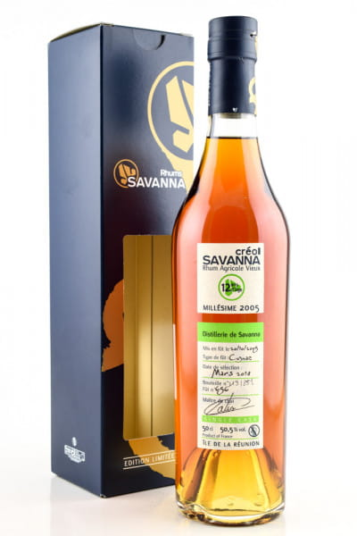 Savanna Créol 2005/2018 Single Cask exCognac 50,5%vol. 0,5l