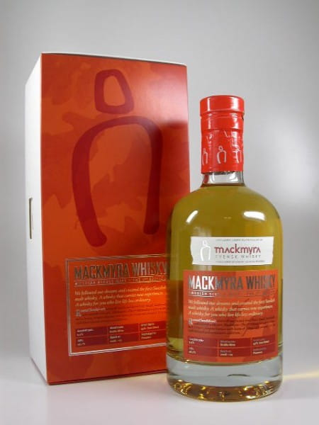 "Mackmyra ""The 1st Edition"" Svensk Single Malt Whisky 46,1%vol.Sample 0,05l"