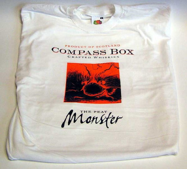 "T-Shirt ""The Peat Monster"" Compass Box Gr. XL (altes Design)"