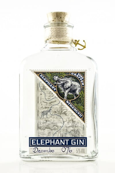 Elephant Gin Elephant strength 57%vol. 0,5l