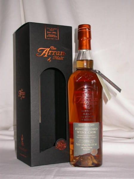 Arran 8 Jahre Fontalloro Wine Cask 55%vol. 0,7l