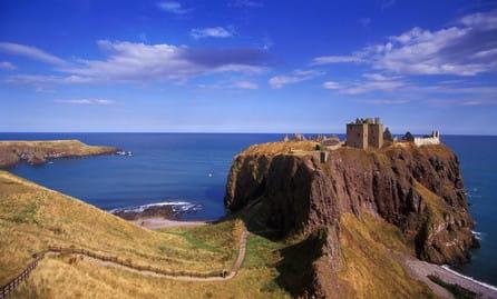 Dunnottar Castle 90 x 60 cm auf Leinwand