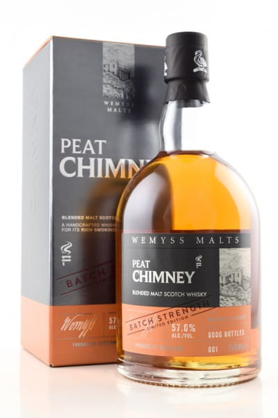 Peat Chimney Batch Strength Wemyss Malts 57%vol. 0,7l