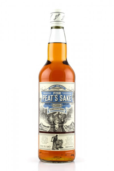 For Peat's Sake 40%vol. 0,7l