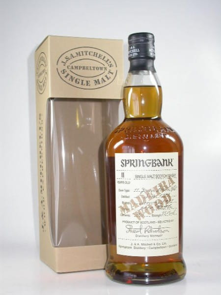 Springbank 1997/2009 Madeira Wood 55,1%vol. Sample 0,05l