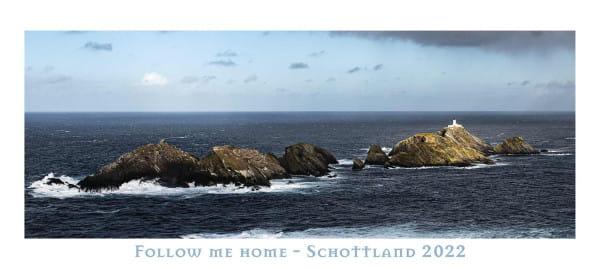 Kalender Follow me Home - Schottland 2022