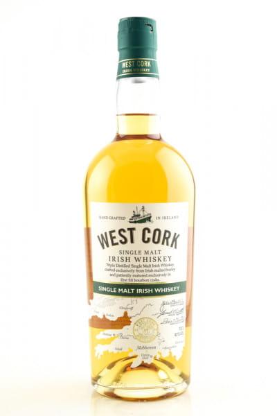 West Cork Single Malt Irish Whiskey 40%vol. 0,7l