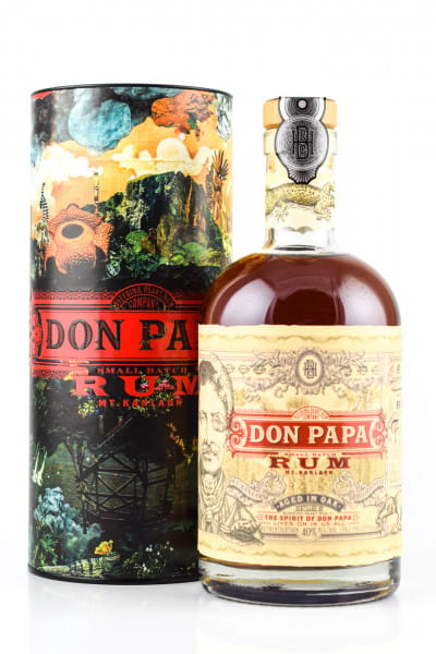Don Papa 40%vol. 0,7l - in Geschenkdose