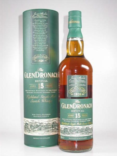 Glendronach 15 Jahre Revival (Oloroso Cask) 46%vol. Sample 0,05l