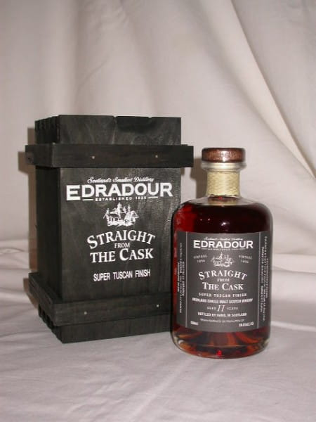 Edradour 1996/2007 Super Tuscan Finish 58,8%vol. 0,5l