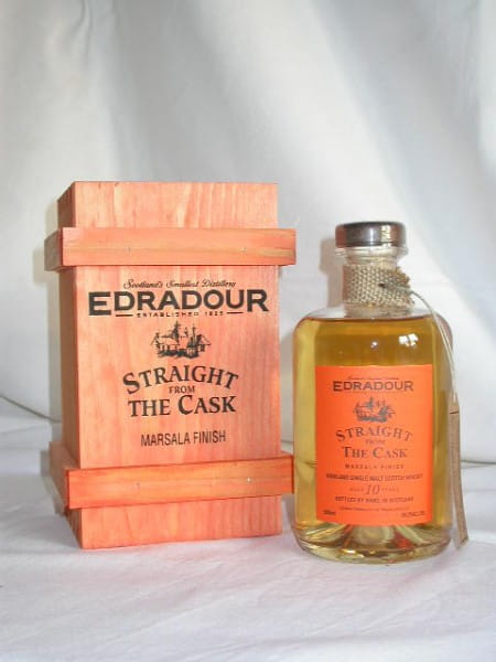 Edradour 1994/2004 Marsala Finish 56,2%vol. 0,5l