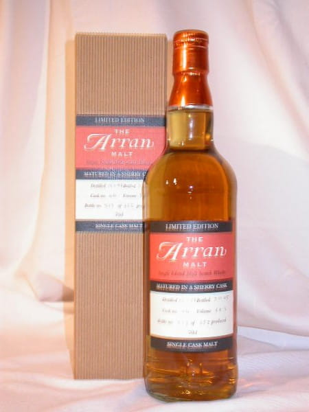 Arran 1998/2005 Sherry Cask 58,3%vol. 0,7l