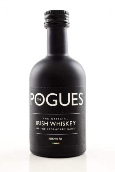 The Pogues Official Irish Whiskey 40%vol. 0,05l